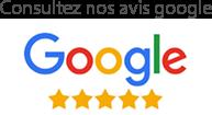 Consultez nos avis Google